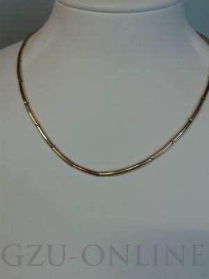 een 585 geelgoud collier